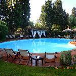 giardino e piscina