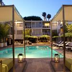 Main Pool area at the Sunset Marquis