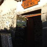 Doorway and menu