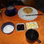 Chilean breakfast