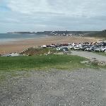 Putsborough Beach which joins into Woolacombe Beach
