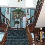 The beautiful staircase.