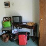 Televisión y mesa