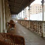 The large verandah - the highlight!