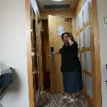 My mom in her newly refurbished room