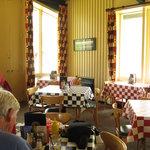 Inside Jammer Joe's at Lake McDonald