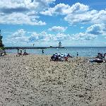 Port Dover beach, near Simcoe