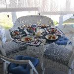 Diner in the verranda