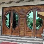 Main gate of hotel