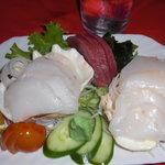 Sashimi di tridacna