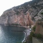 Spiaggia marina di Meta lato Alimuri