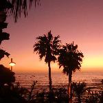 Sonnenuntergang aus dem Pool im Oceano-magisch