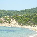 Elias beach in mid august