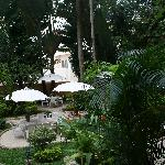 Garden- nice place to have breakfast