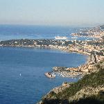 View from Mortola Superiore towards Monaco