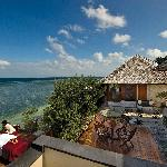 Start or end your day with a relaxing massage on your Villa's sundeck.