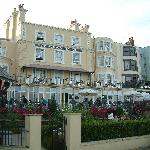 Royal Albion Hotel view from the prom