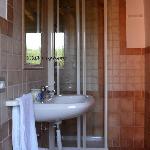 , bagno personale con finestra