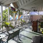 Front Deck overlooking Duval Street