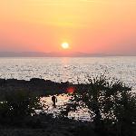 sunset over Lake Turkana