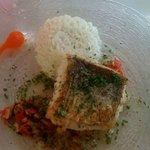 Le poisson du jour : Merlu à la Plancha sauce Créole