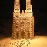 La cattedrale di Tours riprodotta