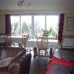 Our breakfast room overlooking Kenmare Bay