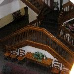 STAIRS - inside lobby - different but beautiful