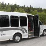 Very nice comfy bus