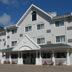 Country Inn & Suites Regina exterior. Guests enjoy free parking.