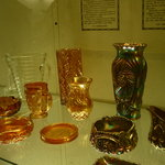 Some of the glass exhibits