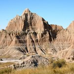 Badlands Wall