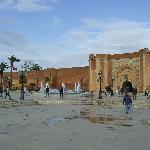 The Bab el Had entrance to the Medina