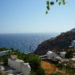 View from our room in Aganti Traditional,Sifnos