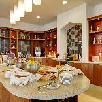 The hub kitchen is the heart of the hotel, this is where you will find your complimentary breakf