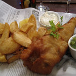 fish and chips main course