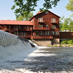Lodging and Casual Fine Dining overlooking the Old Mill Waterfall