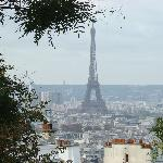 View from Basilique De Sacre Cour