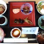 朝食。和食です。
