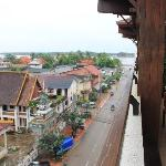 view from balcony to Mekong River