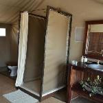 Tent bathroom