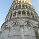 vista della torre mentre siamo in attesa