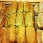 Tre tipi di pane a scelta del cliente