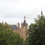 Shwerinのお城、ホテルからも徒歩で