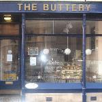 The Buttery Cafe, Oxford at 7 am (opens at 8:30am)