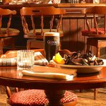 Delicious local produce and great drinks available in The Park Bistro & MacCarthy's Bar