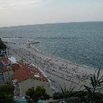 La Spiaggiola vista dall'alto