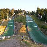 Rampa di ski jumping a Hinterzanten