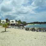 plage de la residence
