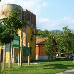 """Parque de la antigua estación de tren """"Ruta del ferro"""""""